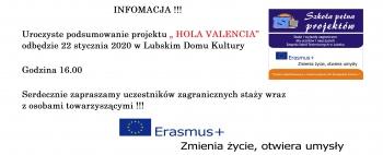 Podsumowanie ERASMUS+