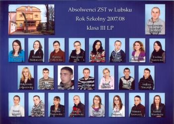 ROCZNIK 2007:2008 III Liceum Profilowane