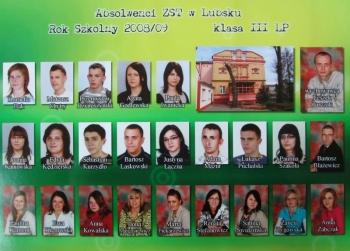 ROCZNIK 2008:2009 III Liceum Profilowane