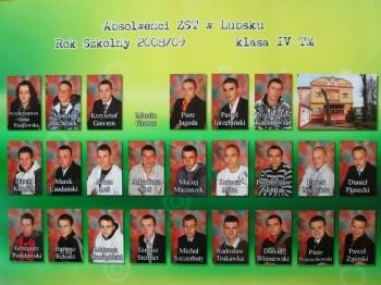 ROCZNIK 2008:2009 IV Technikum Mechaniczne