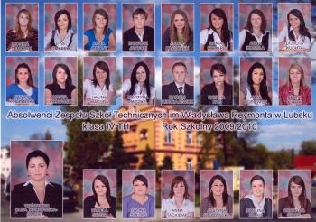 ROCZNIK 2009:10 IV Technikum Hotelarstwa