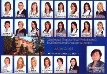ROCZNIK 2010:11 IV Technikum Hotelarstwa
