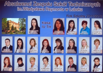 ROCZNIK 2011:12 IV Technikum Hotelarstwa