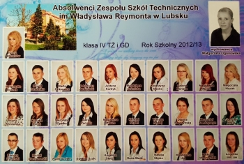 ROCZNIK 2012:13 IV Technikum Żywienia