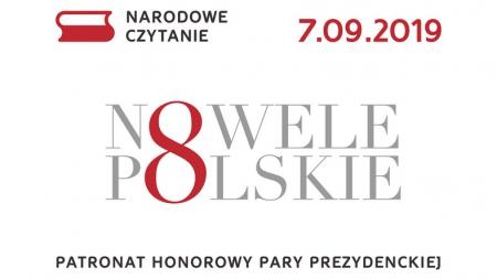 'Narodowe Czytanie - Nowele Polskie' 2019