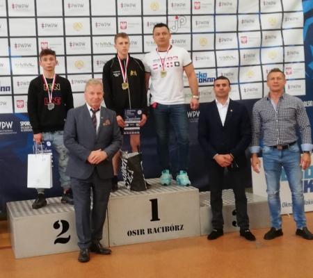Kornel Słomkowski UKS ZST Lubsko złotym medalistą Mistrzostw Polski