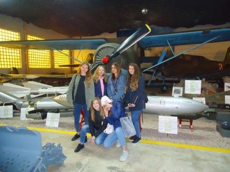 Wycieczka do Muzeum Wojska Polskiego w Drzonowie